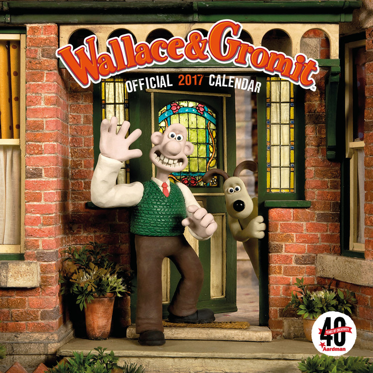 Calendrier Srd 2020.Wallace Gromit Aasrdman 40th Hmerologio 2020 Europosters Gr