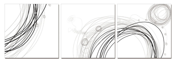 Wandbilder Modern Design - Lines