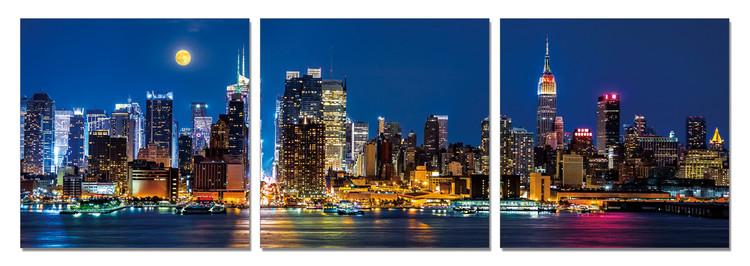 Wandbilder Night city