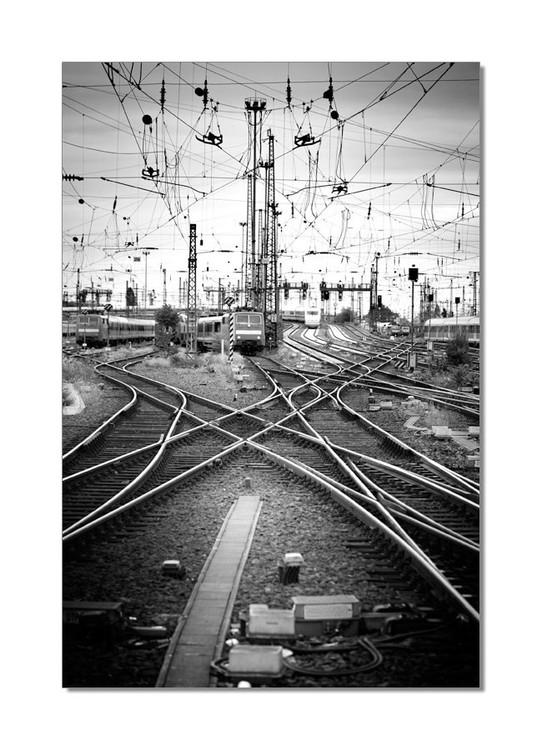 Wandbilder Railway