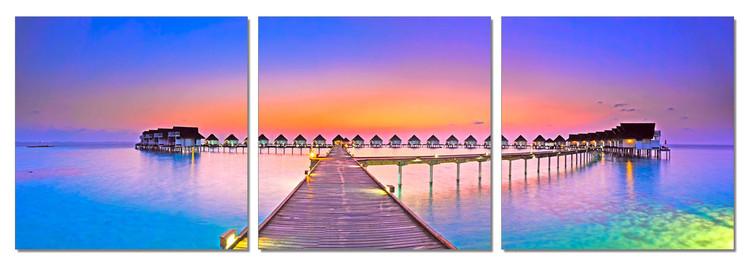 Wandbilder Romance - City in the Indic Ocean