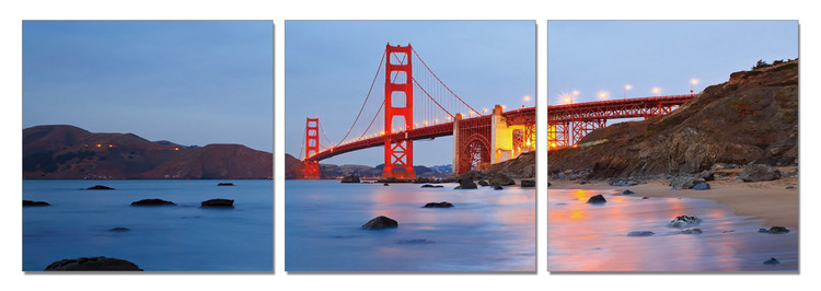 Wandbilder San Francisco - Golden Gate