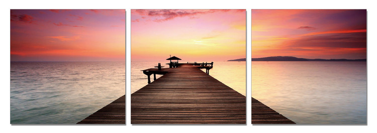 Wandbilder Sonnenaufgang am Ozean