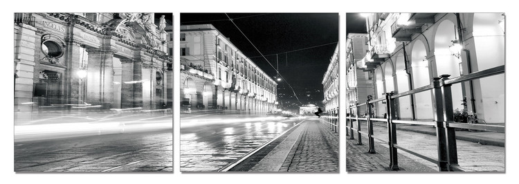 Wandbilder Turin - Night Rush