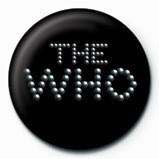 WHO - pinball logo Insignă