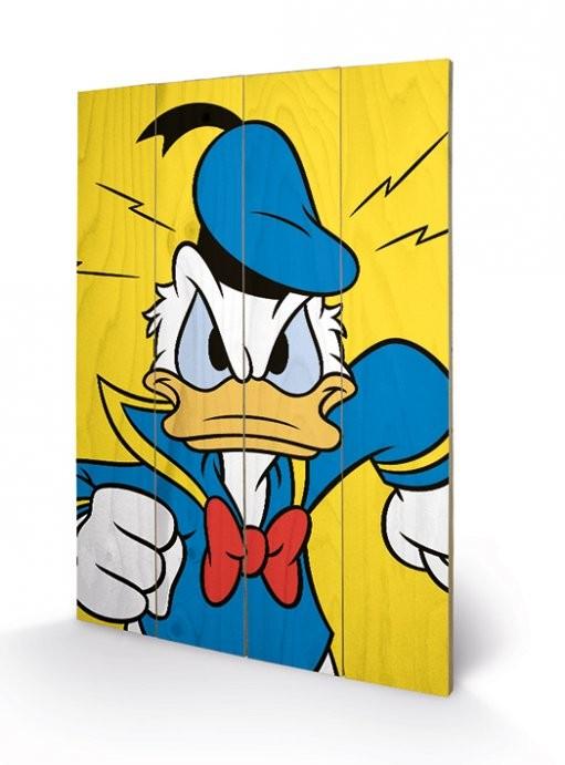 Obraz na dřevě - Kačer Donald - Mad