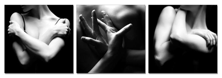 Woman's Body - Tenderness Modern tavla