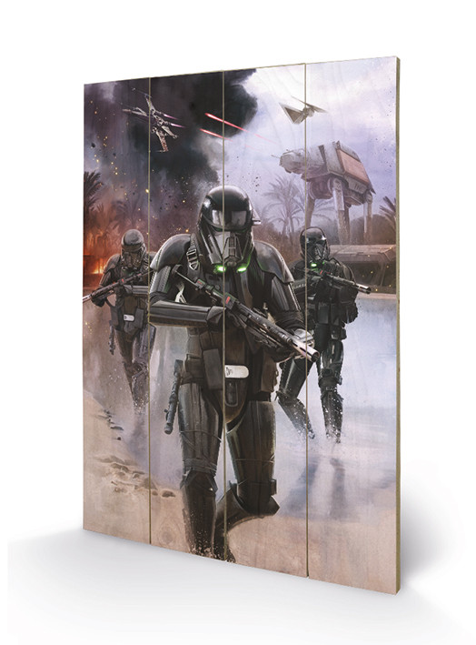 Obraz na dřevě  Rogue One: Star Wars Story - Death Trooper Beach