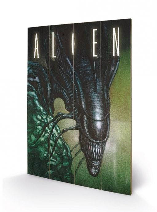 Obraz na dřevě - Vetřelec (Alien) - Creep