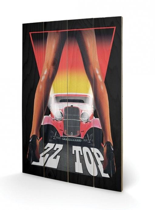 Obraz na dřevě  ZZ Top - Legs