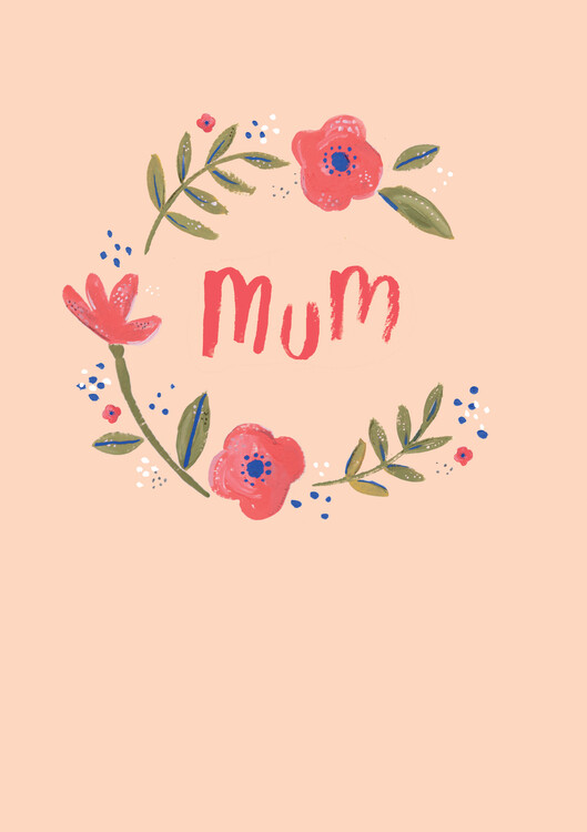 xудожня фотографія Mum floral wreath