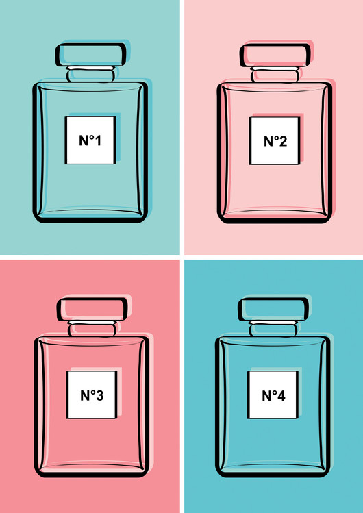 xудожня фотографія Pastel perfumes