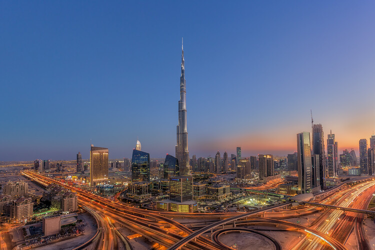 xудожня фотографія The Amazing Burj Khalifah