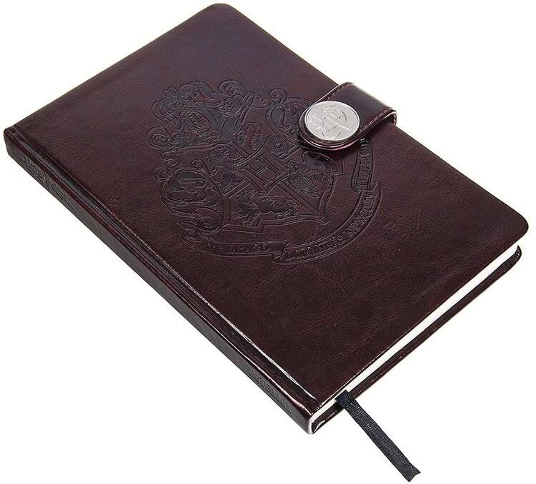 Zápisník Harry Potter - Hogwarts Crest / Clasp Premium
