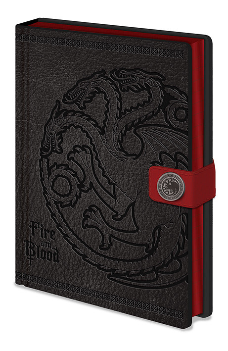 Zápisník Hra o Trůny (Game of Thrones) - Targaryen