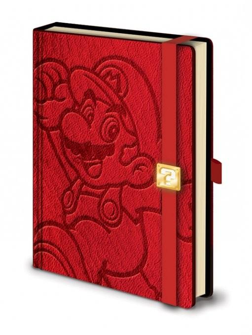Zápisník Mario - A5 Premium