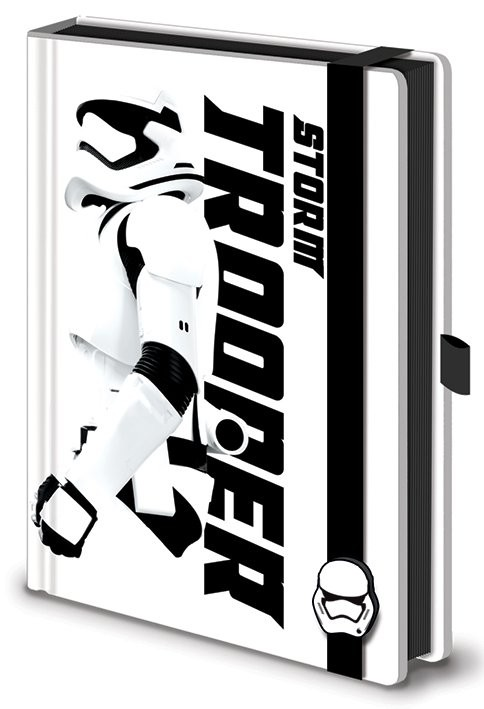 Zápisník Star Wars : Epizóda VII - Stormtrooper Premium A5