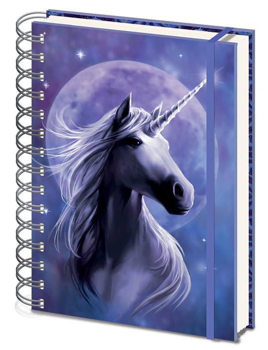 Anne Stokes - Unicorn Starlight Zápisník