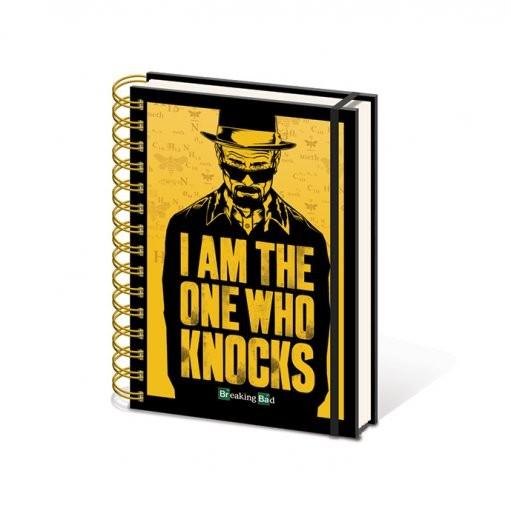 Breaking Bad (Perníkový táta) - I am the one who knocks A5 Zápisník
