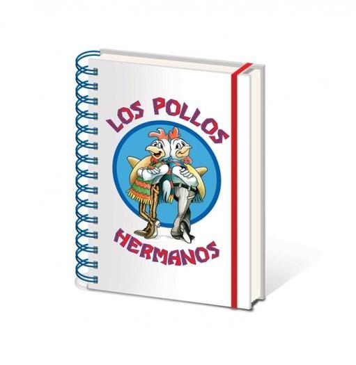 Breaking Bad (Perníkový táta) - Los Pollos Hermanos A5 Zápisník