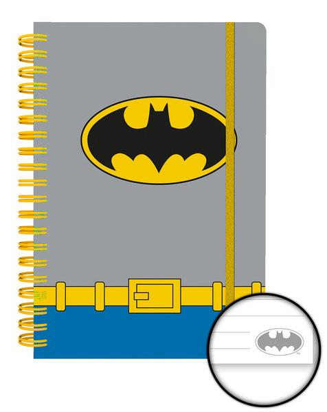 DC Comics - Batman Costume Zápisník