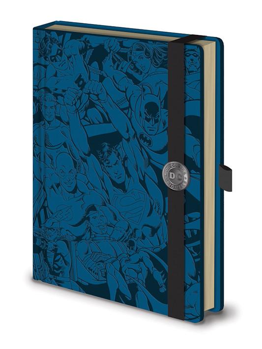 Zápisník DC Originals A5 Premium