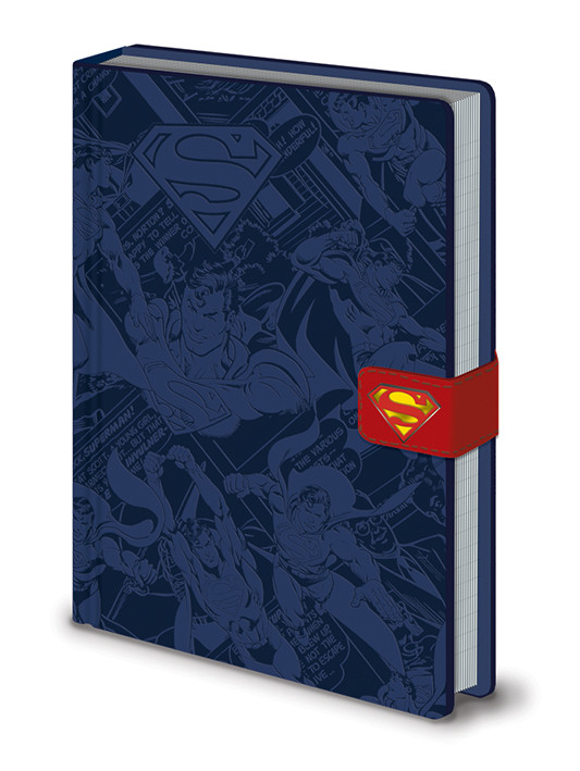 Zápisník DC Originals - Superman Montage Premium