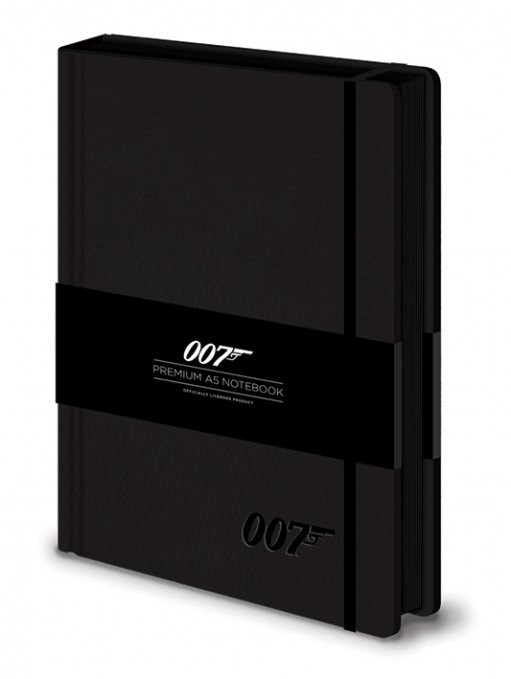 Zápisník James bond - 007 Logo  Premium A5