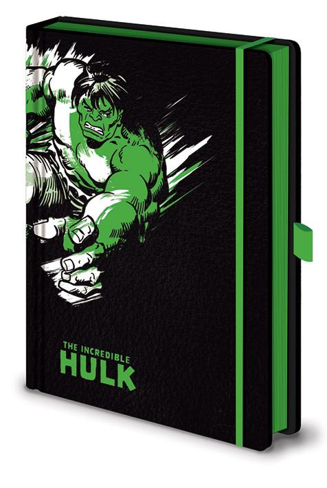 Marvel Retro - Hulk Mono Premium Zápisník