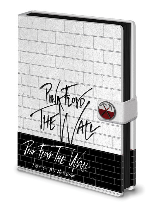 Zápisník Pink Floyd - The Wall