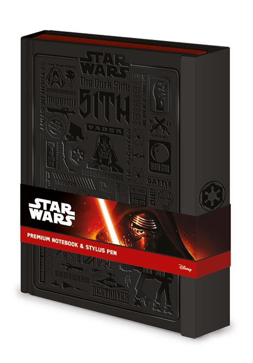 Star Wars - Icongraphic Zápisník