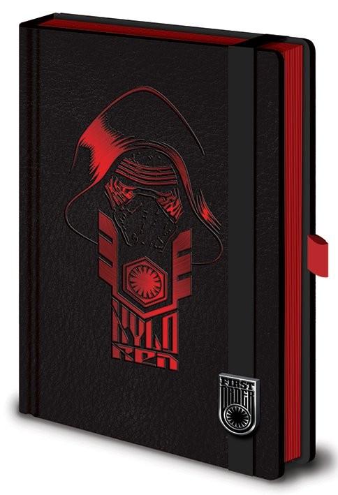 Star Wars VII: Síla se probouzí - Kylo Ren Premium A5 Zápisník