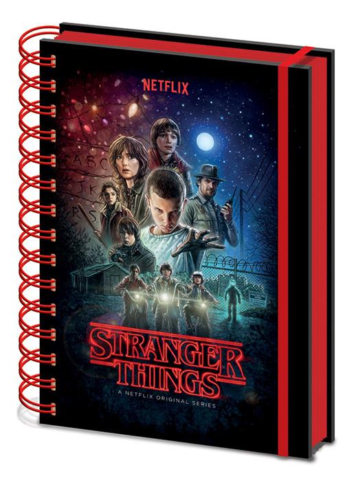 Stranger Things - One Sheet Zápisník