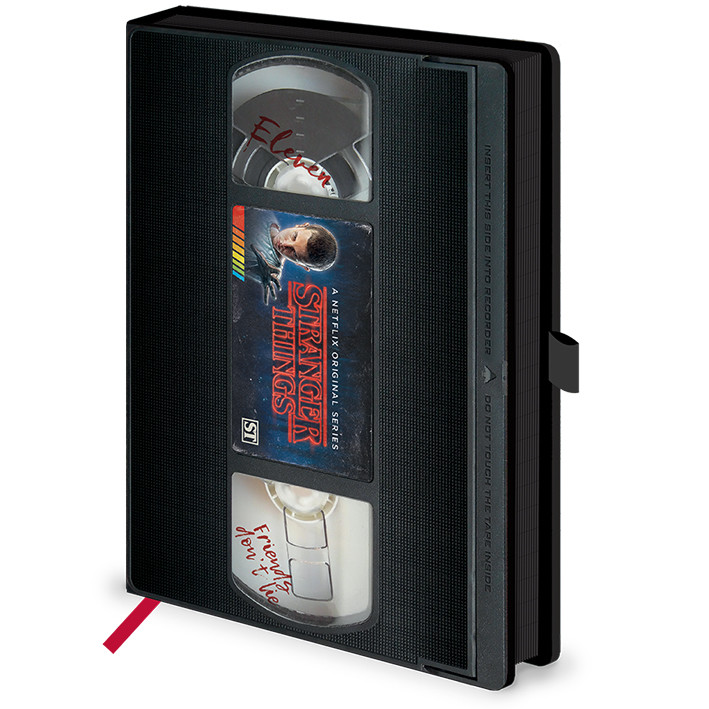 Stranger Things - VHS Zápisník