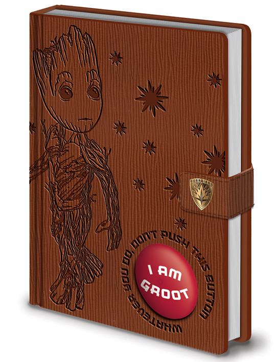 Strážcovia Galaxie Vol. 2 - I Am Groot - PREMIUM LIMITED SOUND NOTEBOOK Zápisník