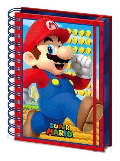Super Mario - Mario Zápisník