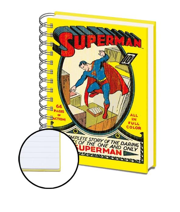 SUPERMAN NO.1 – A4 Zápisník