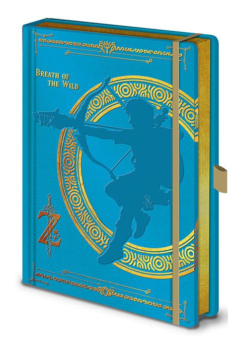 Zápisník The Legend Of Zelda - Breath Of The Wild