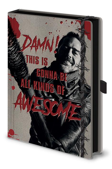 The Walking Dead - Negan & Lucile Zápisník