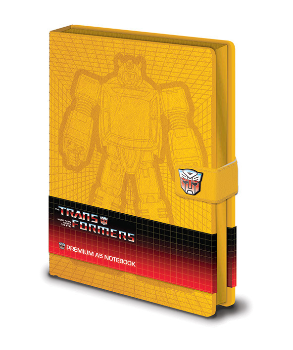 Zápisník Transformers G1 - Bumblebee