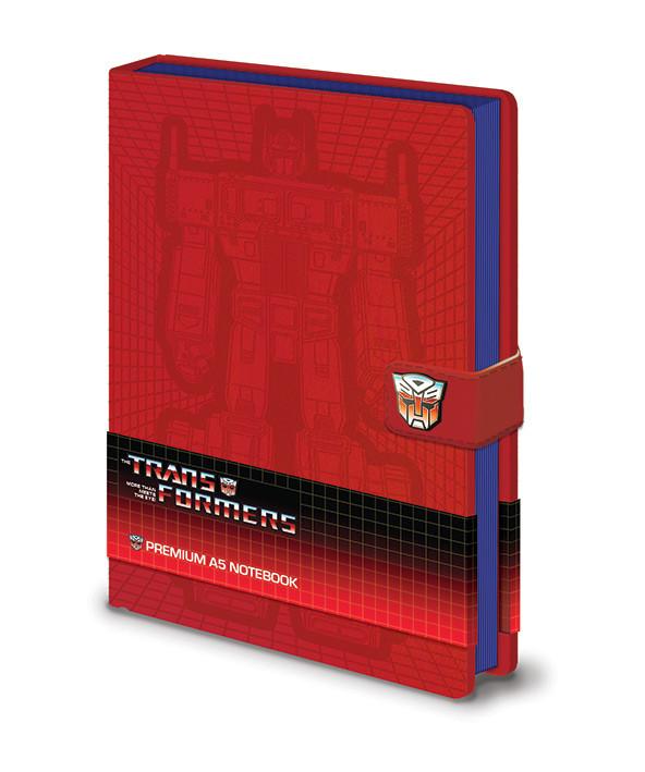 Zápisník Transformers G1 - Optimus Prime