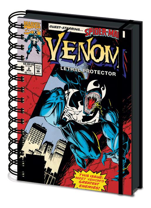 Venom - Lethal Protection Zápisník