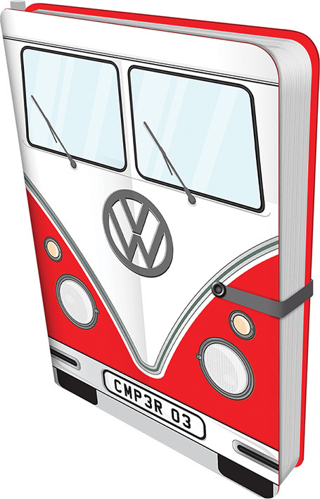 Volkswagen - Red Camper Zápisník