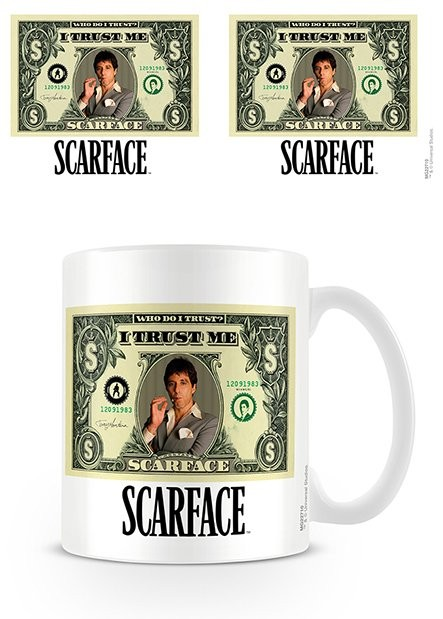 Hrnček Zjazvená tvár - Dollar Bill