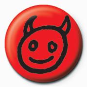 Devil Face Značka