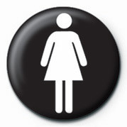 FEMALE SIGN Značka