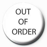 OUT OF ORDER Značka