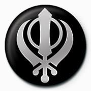SIKH (FAITH SYMBOL) Značka