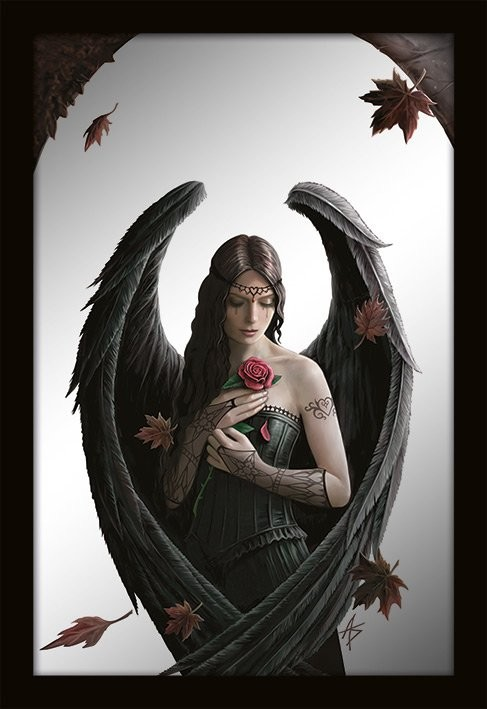 ZRCADLA - anne stokes / angel rose