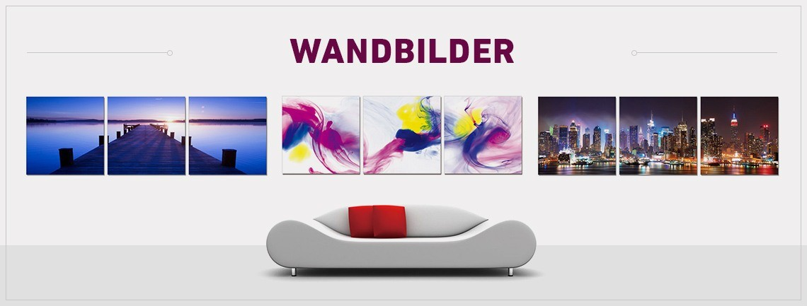 der gro e wandbilder shop. Black Bedroom Furniture Sets. Home Design Ideas
